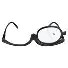 Women Makeup Magnifying Reading Glasses Flip Lens Make up Eye Glasses +1.00 ~ +4.00 - #2