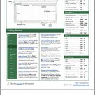 Free Microsoft Excel Basic Cheat Sheet