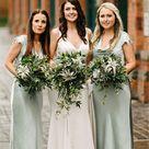 Sheahth Newest Short Sleeves Long Simple Bridesmaid Dresses, BD0610 – RomanBridal