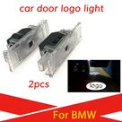 USD$11.85 2PCS Led Car Door Light For BMW e39 1999 2006 M Logo Light Laser Projector Accessories Ghost Shadow Welcome Lamp 7W HD Highlight