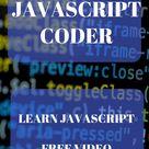 JavaScript coding learning. Tutorials for coding & programming