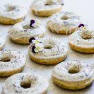 Vegan Lemon Poppyseed Donuts