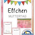Elfchen zum Muttertag (z.B. als Muttertagsgeschenk) – Unterrichtsmaterial in den Fächern Deutsch & Fachübergreifendes