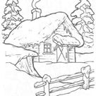 Free & Easy To Print House Coloring Pages