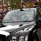 Queen and Duke of Edinburgh visit Leicester Cathedral