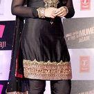 Sonakshi Sinha in tight black dress