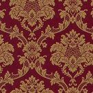 rood goud barok behang xxx23