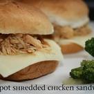 Shredded Chicken Sandwiches