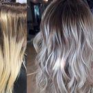 COLOR CORRECTION: Spotty Blonde To Lovely Violet Ash