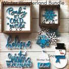 Winter Wonderland Bundle  Baby It's cold outside  Tiered | Etsy