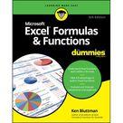 Excel Formulas & Functions for Dummies Edition 5 Paperback   Walmart.com