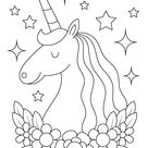 Fun and Free Unicorn Coloring Pages For Kids - MOMtivational