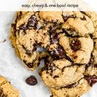 Classic Vegan Chocolate Chip Cookies | Eat With Clarity