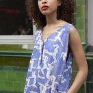 Dede Printed Cotton Jumpsuit - S/M