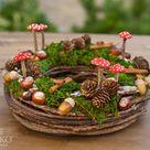 DIY: süße Herbstdeko mit Naturmaterial
