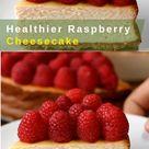 Healthy Raspberry Cheesecake