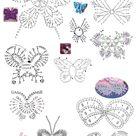Crochet Butterfly Diagrams and Inspiration ⋆ Crochet Kingdom