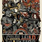 Mondo Unveils Their CAPTAIN AMERICA: CIVIL WAR Poster by Artist Tyler Stout — GeekTyrant