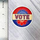 Vote sticker   stickers    Stickers for Hydroflask   laptop stickers    Water bottle Sticker   Waterproof Stickers   Flower Stickers
