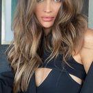 Brown Hair Colour Ideas for 2021 : Light Brown Natural Looking Hair