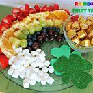 Rainbow Fruit Platters