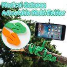 Magical Octopus Adjustable Multi-Holder - Black / Buy 1 Only