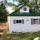 c.1950 Cute Lake Cottage For Sale in Michigan $72k - Tiny House Calling