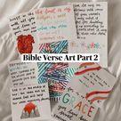 Bible Verse Art Part 2