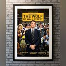 Wolf Of Wall Street, The (2013) - No / Glass & Double Mount