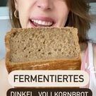 Fermentiertes Brot schmeckt sooo geschmacksintensiv. Ich liebe es! Probier' es unbedingt mal aus!😍