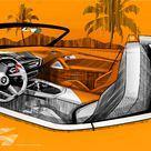 2017 BMW Z4 Concept   Design Sketch