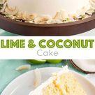 Lime & Coconut Cake   Liv for Cake