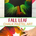 Herbstbilder mit Pastellkreide