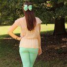 Mint Pants Outfit