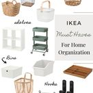 Must have Ikea items for trendy and stylish home organization