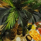 Pineapple Tree Centerpieces