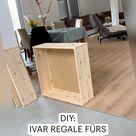DIY: IVAR REGALE FÜRS ARBEITSZIMMER