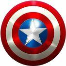 (eBay) Captain America Shield - Metal Prop Replica - Screen Accurate - 1:1 Scale Shield
