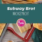 Subway Brot nachgemacht / Sandwich / belegtes Baguette / Cheese & Oregano