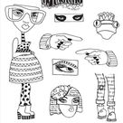 Dylusions - Rubber Stamps - Pondering Petunia