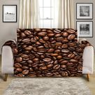 Couch Cover - Coffee Lover by Coastal Passion, Oversized Sofa Cover 85