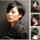Short Dark Hairstyles