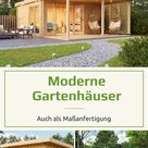 Holz Gartenhäuser im modernen Stil!