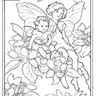 Flower Fairies Coloring Pages