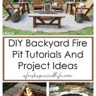 DIY FIRE PIT IDEAS - A Fresh-Squeezed Life