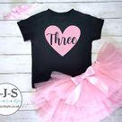 Birthday outfit for girl, cute girl birhday set, toddler girl, baby girl, gift for little girl, 1st, 2nd 3rd birthday tutu set, vest, number