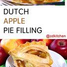 Dutch Apple Pie Filling For Canning Recipe   CDKitchen.com