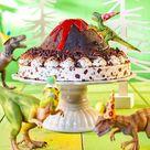 Roarrrr! Ein Dinosaurier-Kindergeburtstag mit brodelnder Lava-Torte!
