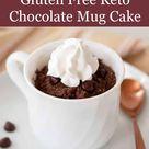 Gluten Free Keto Chocolate Mug Cake
