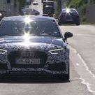 New 2018 Audi RS3 Sedan spy video and screenshots